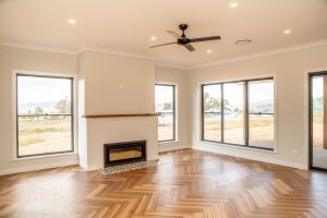 SHH Mudgee Build Living Area